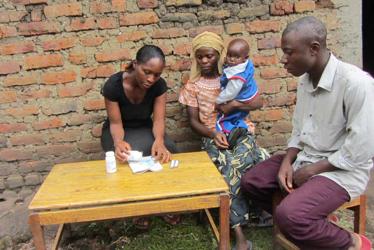 Aids Initiative Visit