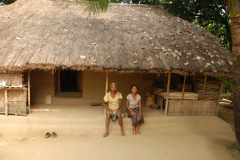 Serving the garo tribe in bangladesh compassion for Bangladeshi home design picture