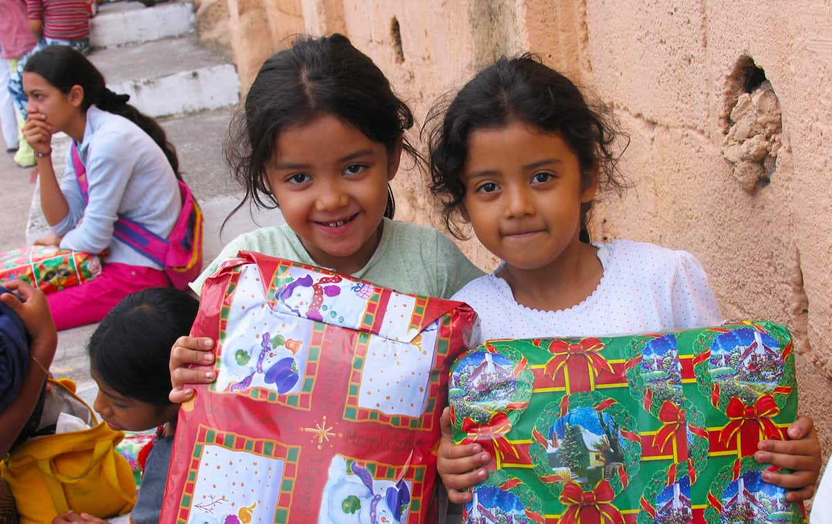 Image result for sending christmas gifts to kids in need