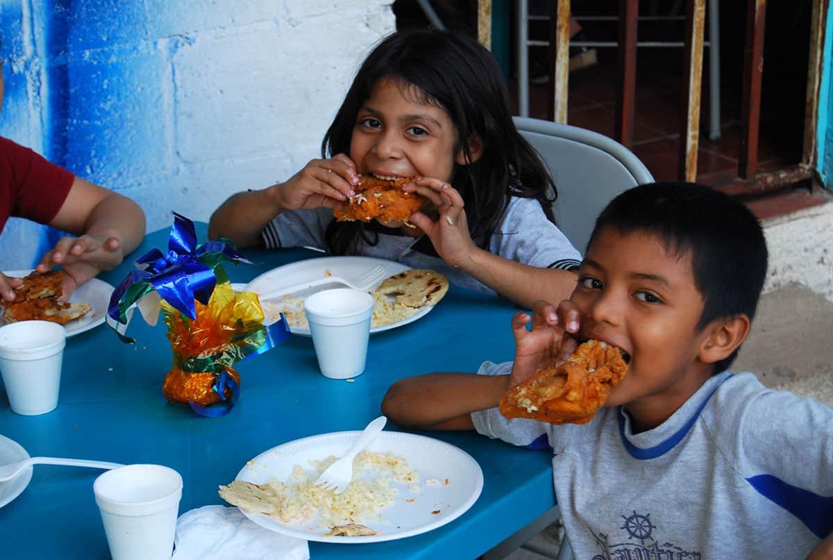Celebrating Christmas El Salvador Food