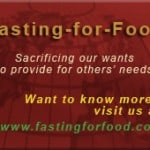 Give a Gift to the Lord: Fast for Food