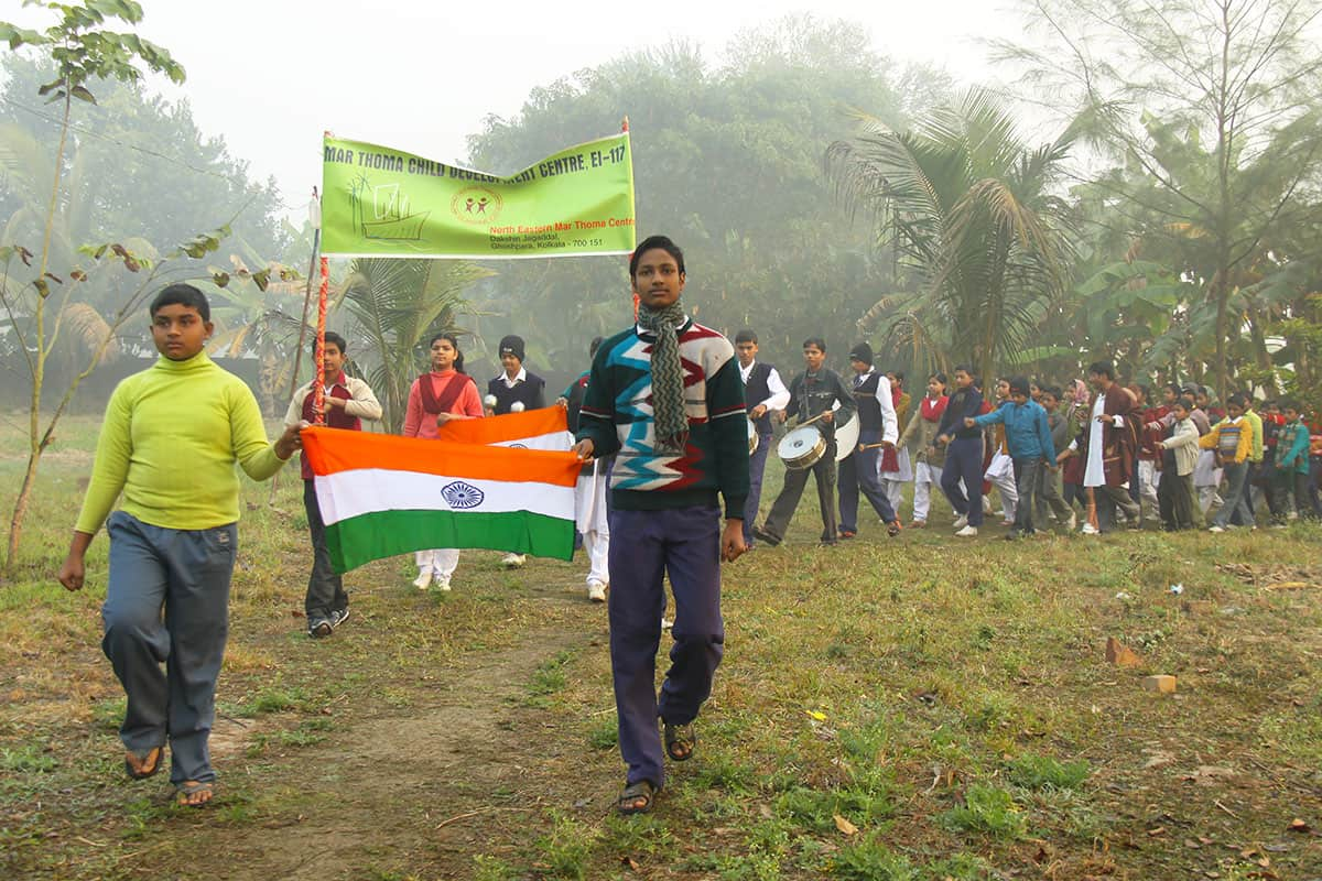 Republic Day in India Marching