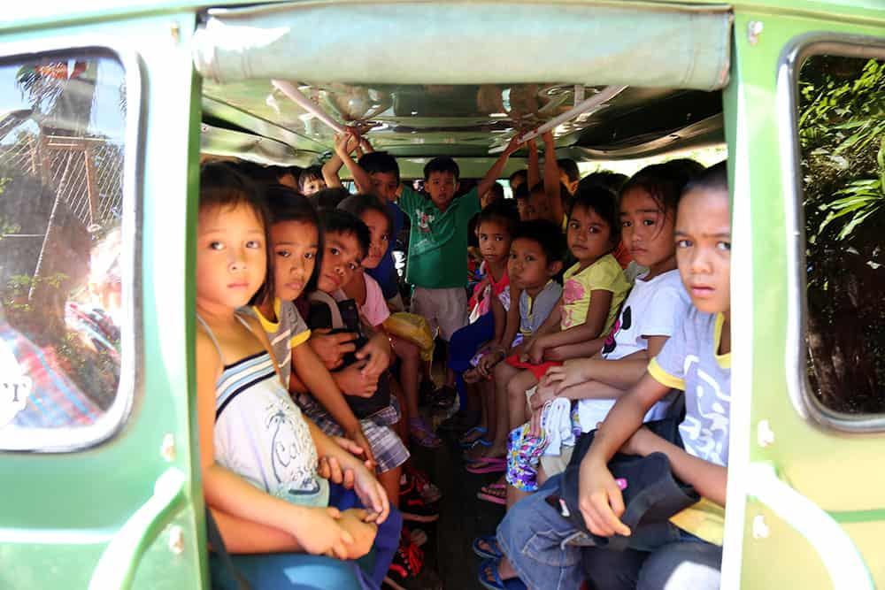 Church Partners Philippines children