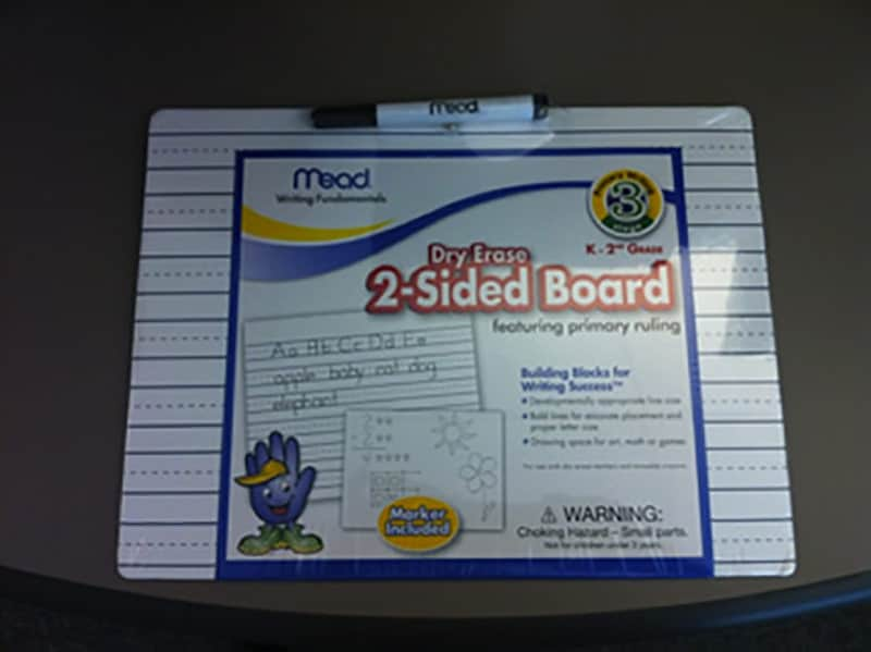 2 sided board