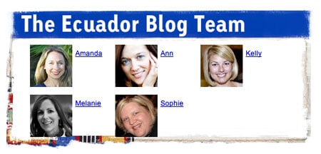 Travel in Ecuador with Compassion Bloggers