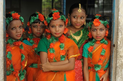 definition of beauty traditional dress