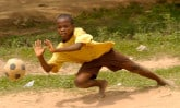 SAWADOGO Abdoul Kader playing soccer