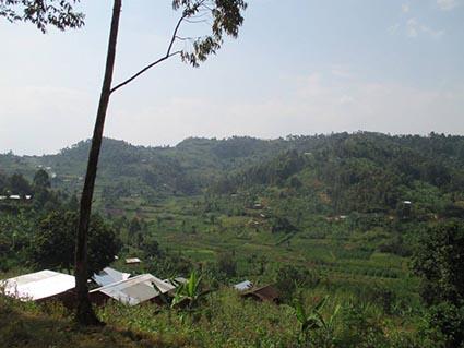 rwandan terrain