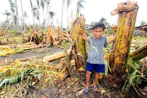 pray for the philippines boy