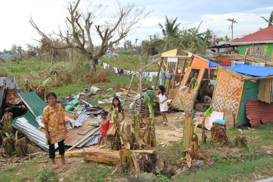 typhoon haiyan family