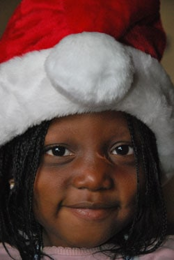 christmas in burkina faso