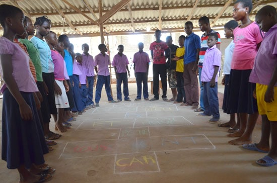 spiritual development through hopscotch