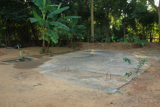 rainwater harvesting structure