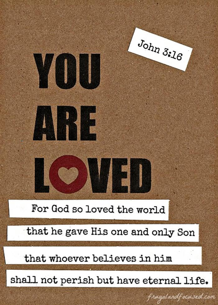 Share the Bible John 3:16