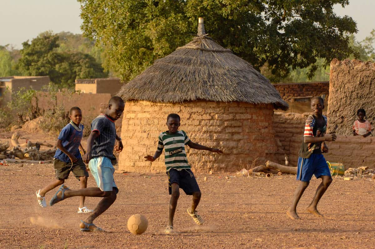 kids being kids burkina faso