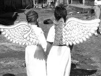 christmas around the world twin angels