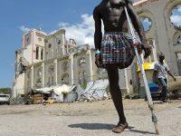 rebuilding haiti crutch