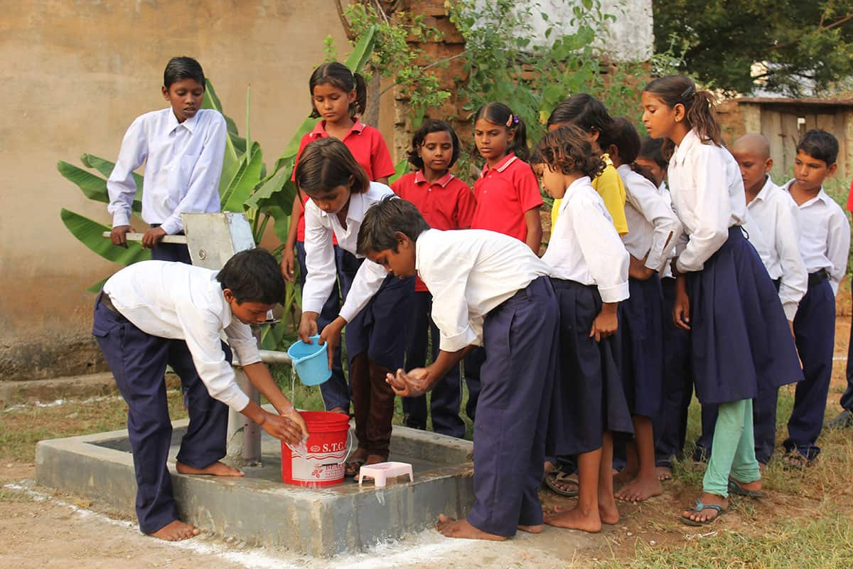 Sustainable Water Hand Washing