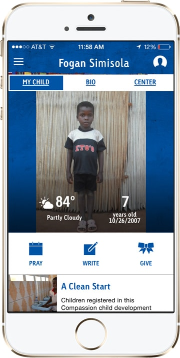 Compassion App My Child