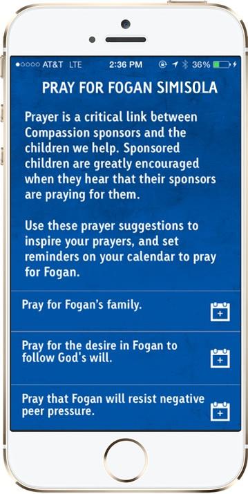 Compassion App Pray