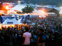 Summer Volunteering Creation Tents
