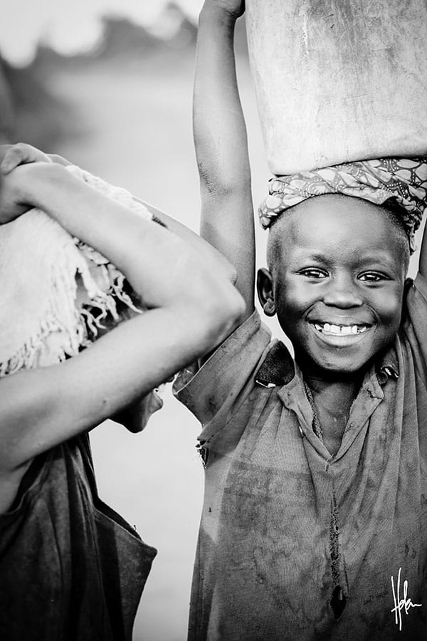 Day of the African Child Carrying Water