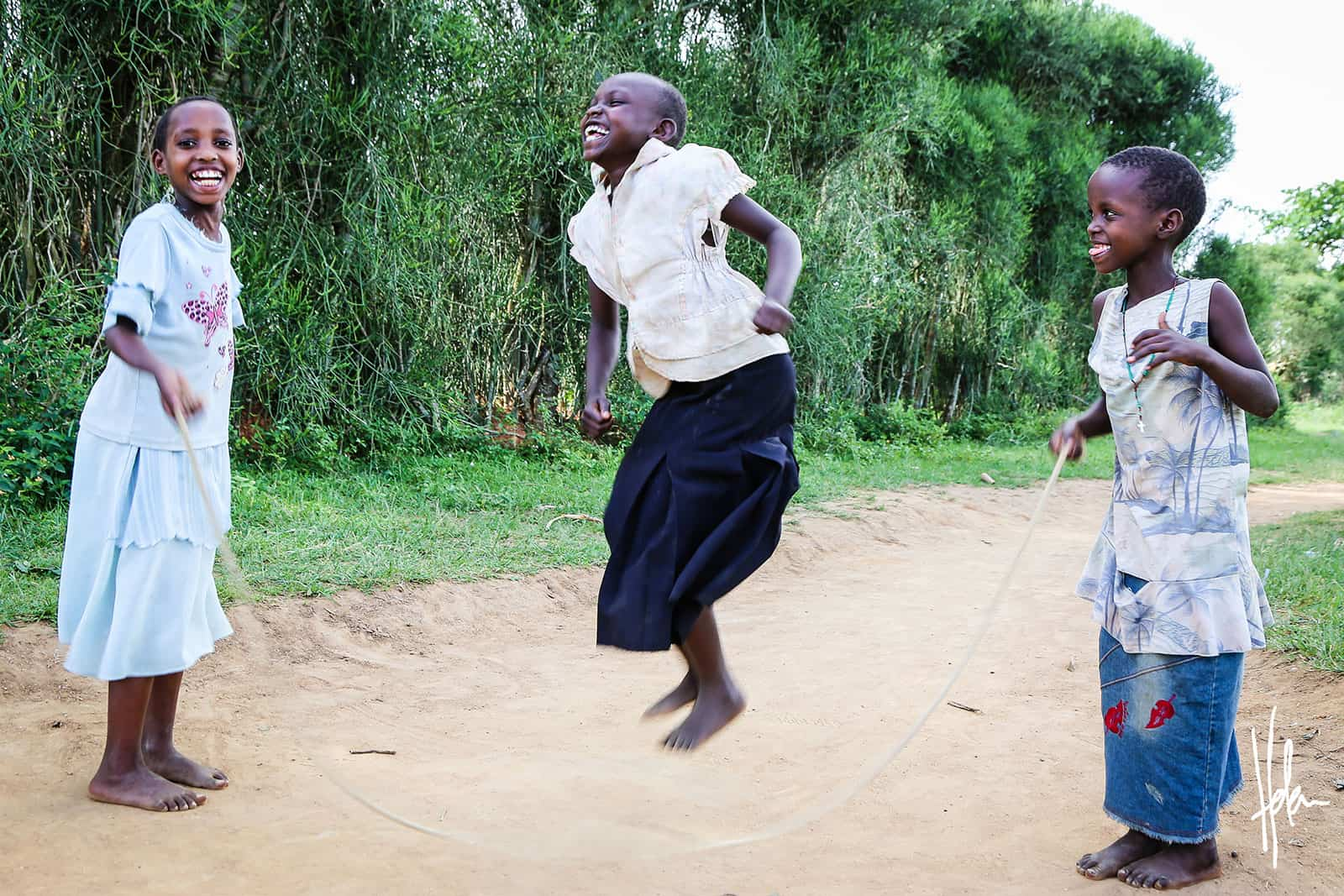Day of the African Child Joy of Jumping