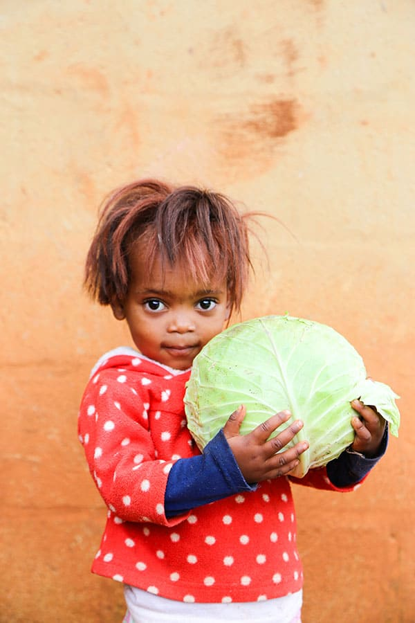 Day of the African Child Loves Her Cabbage