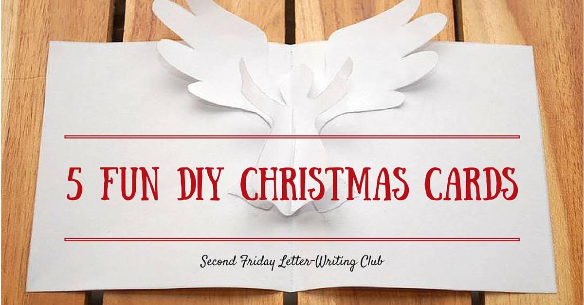 Christmas Greetings To My Sponsor.5 Fun Diy Christmas Cards Compassion International Blog