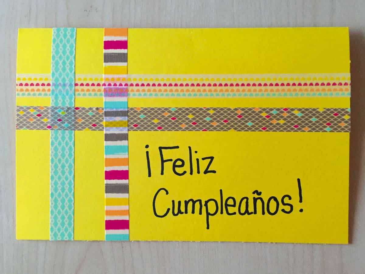 What Can I Mail to the Child I Sponsor Feliz Cumpleanos