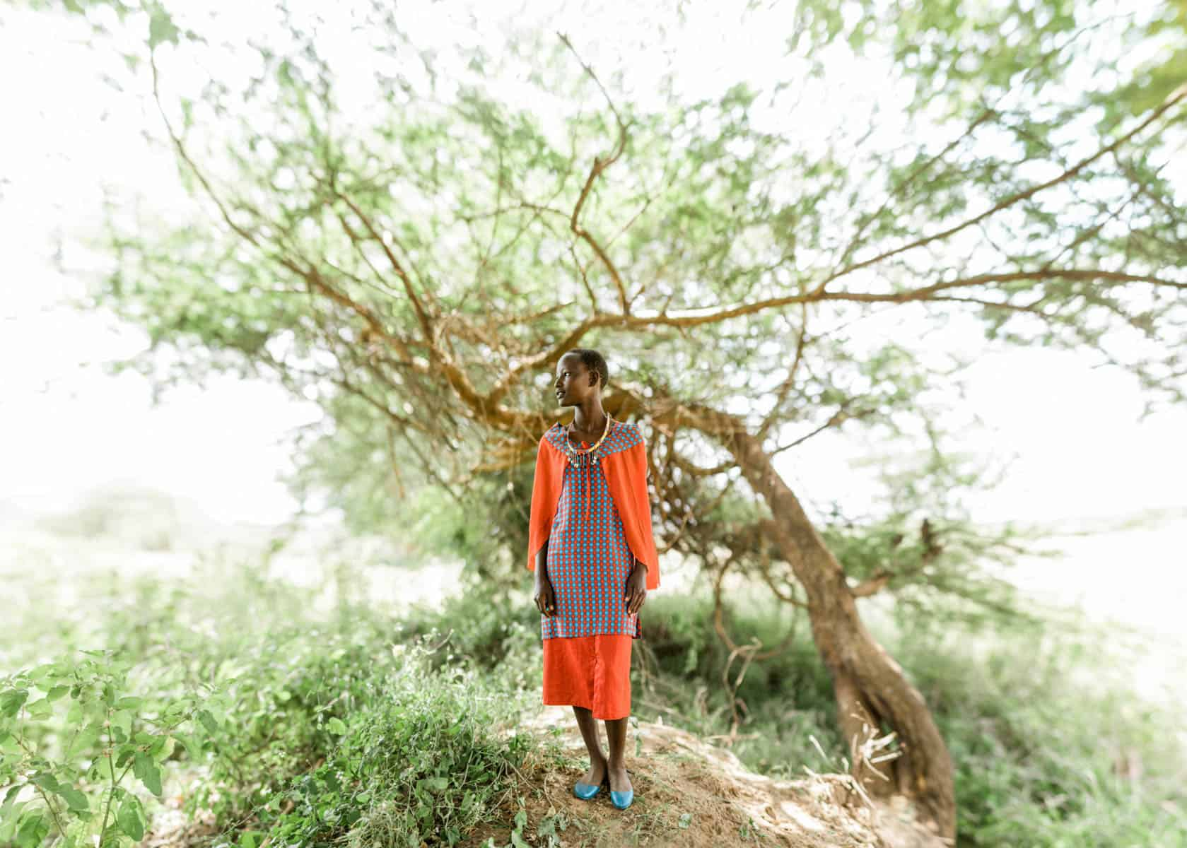 10 Portraits of the Most Courageous Girls in Kenya Rachael