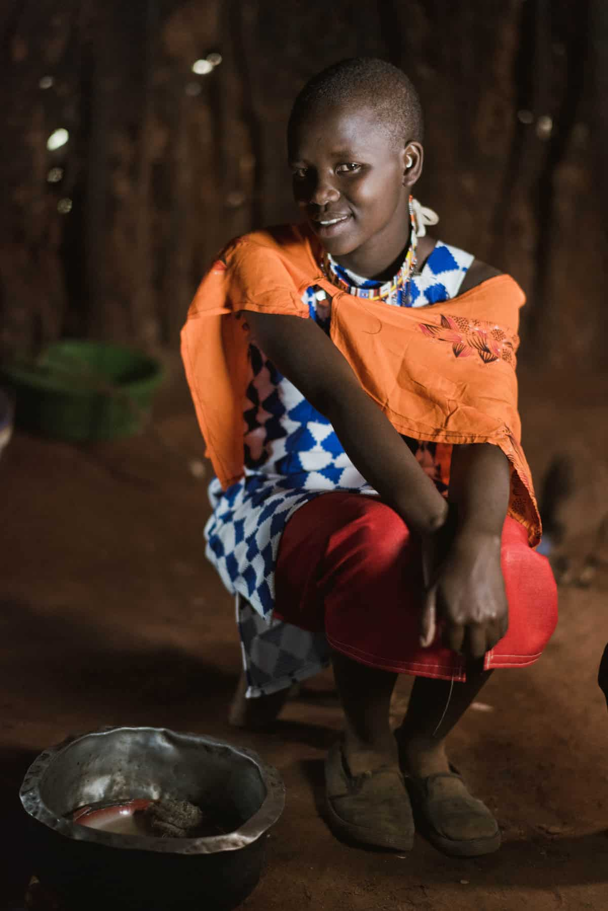 10 Portraits of the Most Courageous Girls in Kenya Saayion