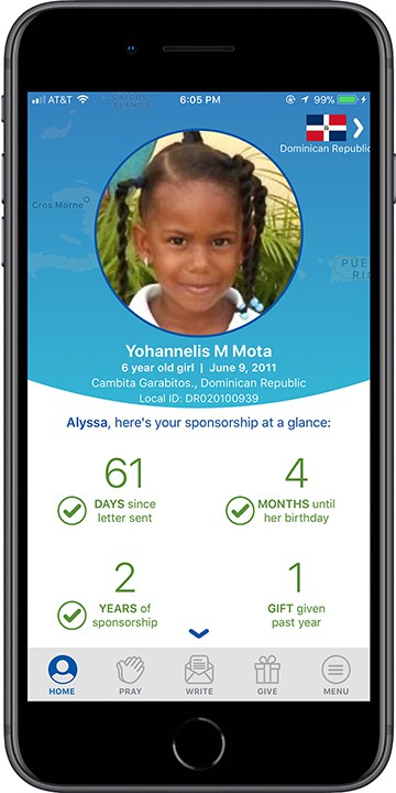 New Updates to the Compassion App: How to Easily Engage With the Child You Sponsor