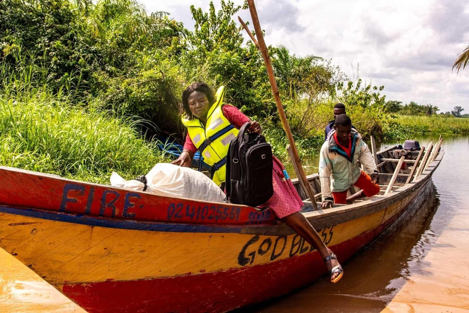compassion letters delivered Ghana