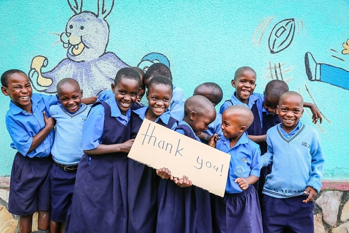 We can't thank you enough for loving and protecting 2 million children!