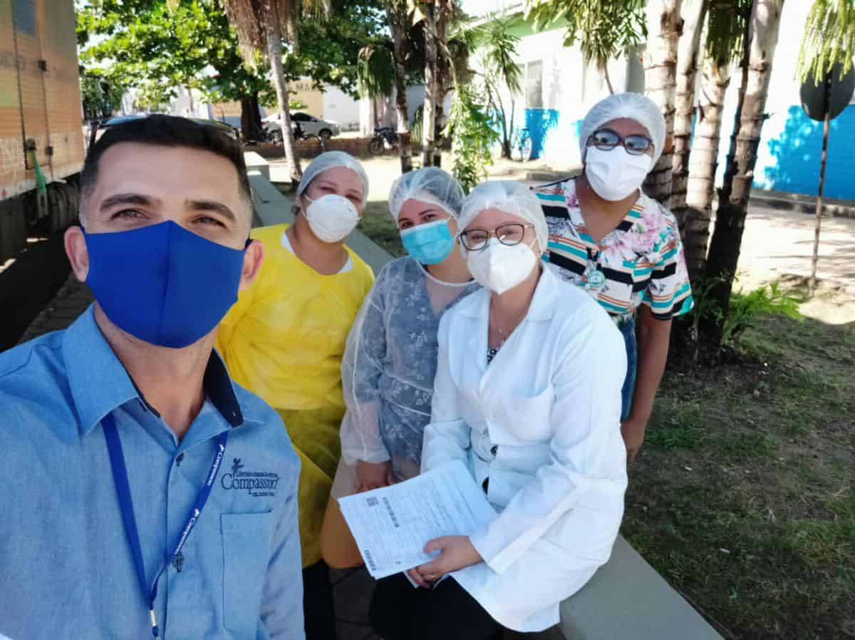 A Surprise Gift for Brazilian Health Workers in Need